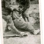 Partigiano, in seguito fucilato, presso Delnice, Croazia, nel 1942