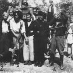 Il condottiero četnik Kerović con i tedeschi
