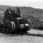 Carro armato jugoslavo di fabbricazione francese distrutto, aprile 1941