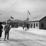 Posto di confine italo-tedesco fra Lubiana e Šentvid