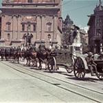 Parata di unità italiane a Lubiana