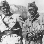Josip Broz Tito, a sinistra e Mosa Pijade, a destra