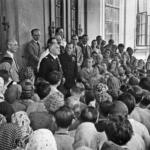 L'alto commissario per la provincia di Lubiana Emilio Grazioli alla Fabbrica Tabacchi, 10 luglio 1941