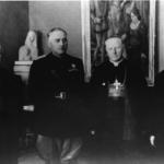 Il vescovo Gregorij Rožman in visita all'alto commissario Grazioli, 20 aprile 1941