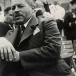 Marko Natlačen nel 1939, ex ban (prefetto) della Slovenia jugoslava. Natlačen viene posto a capo della Consulta provinciale italiana