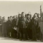 Marko Natlačen con Benito Mussolini