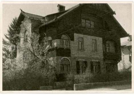 Villa Vidmar a Lubiana, dove si tenne la riunione fondativa del movimento di resistenza sloveno