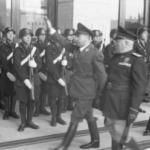 Ante Pavelić con Mussolini in occasione dei Patti di Roma, 18 maggio 1941