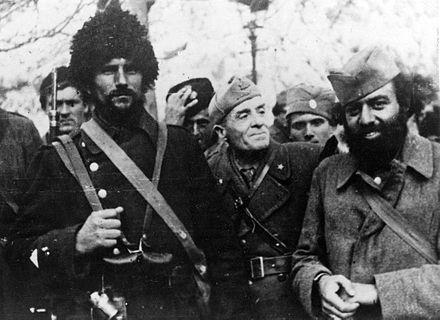 Militari četnici e italiani