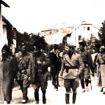 Italiani e četnici a Prozor nel 1942, durante l'Operazione Alpha