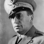 Il generale Mario Roatta, comandante della II armata