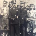 Il prefetto Francesco Scassellati con alcuni notabili montenegrini