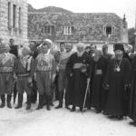 Dignitari montenegrini in occasione dell'insediamento del Consiglio nazionale della Reggenza