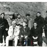 Comitato esecutivo del Comitato antifascista di liberazione nazionale della Jugoslavia prima del passaggio della Neretva, a Gračanica na Rami, 5 marzo 1943. In prima fila Nurija Pozderac, Ivan Ribar, presidente, e Pavle Savić
