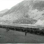 Unità partigiane presso Boan in Montenegro, prima dell'inizio della V offensiva, maggio 1943