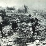 Truppe italiane all'assalto