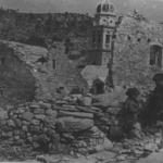Il villaggio di Gradac, in Dalmazia, dopo l'offensiva italiana dell'agosto 1942