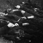 I primi sei ostaggi fucilati nella provincia di Lubiana dagli Italiani il 27 aprile 1942 presso Radohova vas