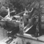 Edifici incendiati a Selce in Dalmazia nell'estate del 1942