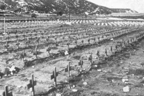 Il cimitero del campo di Rab/Arbe