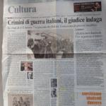 Corriere della Sera, 7 agosto 2008