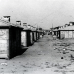 Campo di concentramento di Kampor sull'isola di Rab/Arbe. Nelle baracche di legno per l'alloggio degli Ebrei, della grandezza di quattro metri per cinque, dovevano stare assieme circa 12 persone